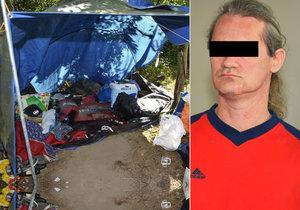 Martin P. si má za vraždu kamaráda bezdomovce odsedět 17 let.