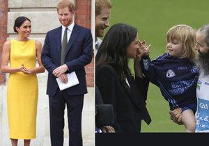 Dvojnásobný přírůstek do královské rodiny? Meghan prý Harrymu porodí rovnou dvojčata!