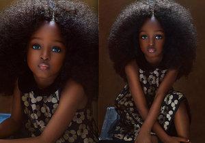 Nová nejkrásnější holčička světa? Anděl z Nigérie okouzlil svět!