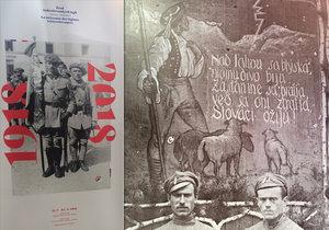 V Galerii 35 je do začátku září vystavena vojensky laděná výstava Československé legie za Velké války, která se zaměřuje především na působení českých a slovenských legionářů ve Francii.