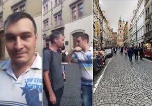 Taxikář vyhrožoval zastupitelům Prahy 1, měl udeřit ženu, která si stěžovala.