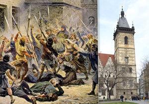 První pražskou defenestrací 30. července 1419 započaly husitské války, které na dlouhá léta zdevastovaly Prahu i Čechy. První na řadě byly Vysočany a Prosek díky sídlu tehdejšího svrženého purkmistra Jana Podvinského.