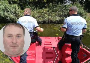 Policisté pátrali po pohřešovaném Viktorovi. Hledali na březích Labe.