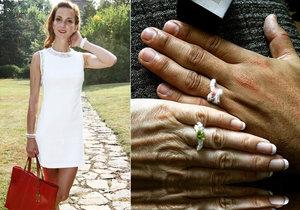 Chystá těhotná Maurerová druhou svatbu? Chlubila se zásnubními prstýnky!