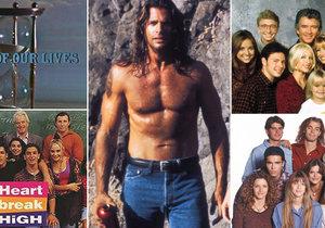 Které seriály jsme v 90. letech milovali?