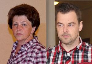 Irena Rychlá doufá, že se jí syn odsouzený za vraždu manželky a dcerky vrátí domů.