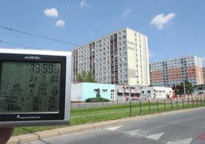 Vysoké teploty znesnadňují práci pražským soudům. Kvůli nim už zkolaboval při přelíčení svědek. (ilustrační foto)