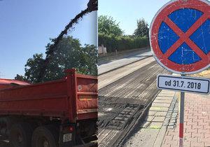 Rekonstrukce Libušské ulice vstupuje do druhé fáze, práce začaly i na poslední části dopravního tahu v Písnici.