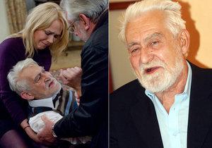 Zemřel herec Ilja Racek. Bylo mu 88 let.