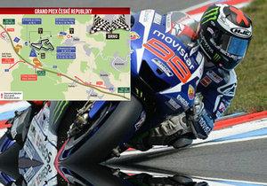 O víkendu se pojede Velká cena Brna v rámci mistrovství světa silničních motocyklů.