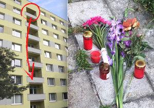 Chytili se za ruce a skočili ze 7. patra: Manžele k tomu dohnaly dluhy a výpověď z bytu