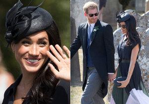 Neposedný knoflíček: Vévodkyně ze Sussexu ukázala světu krajkovou podprsenku!