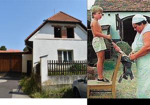 Hoštice se mění k nepoznání, dům Škopkových prochází rekonstrukcí.