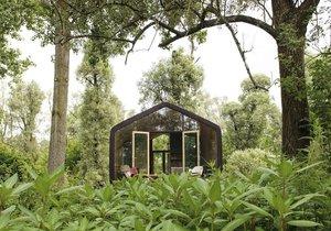 Dům z papíru může sloužit jako bungalov, pracovna i jako trvalé bydlení