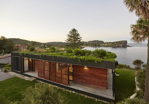Ekologický plážový dům vznikl za pouhých 6 týdnů.