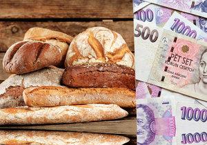 Mlynáři skokově zdražili. Kolik si připlatíme za chleba a rohlíky?