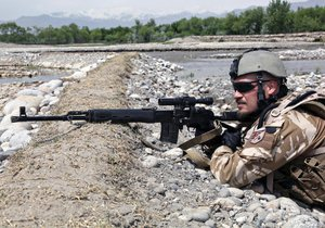 Češi mají za mise v Afghánistánu příplatek.