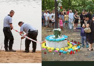 Dva chlapci (†7) utonuli na jezeře Lhota.