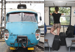 Legendární vlak vyráží na poslední cestu.