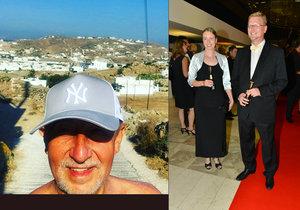 Andrej Babiš vyrazil letos na dovolenou do Řecka. Pavel Bělobrádek se chystá na manželský seminář