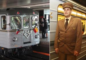 Výročí zelené linky metra A.