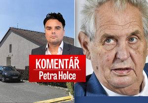 Petr Holec komentuje kauzu H-System a kroky prezidenta Miloše Zemana