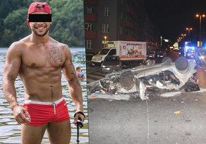Mladý tanečník Matej M. podlehl následkům vážné dopravní nehody.