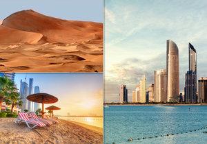 Zářivá perla pouště: Abú Zabí