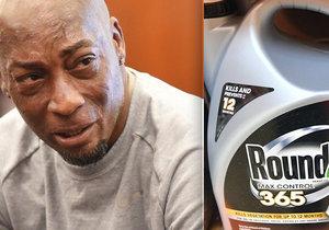 Školník tvrdí, že mu rakovinu způsobil herbicid Roundup. Vysoudil 6,5 miliardy korun.