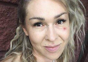 Kateřina Hrachovcová s monoklem