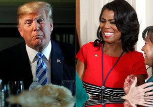 Bývalá pracovnice prezidentské kanceláře Omarosa Manigaultová Newmanová obvinila Trumpa z rasismu.