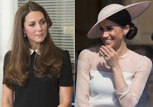 Vévodkyně Meghan se před svatbou opřela do královské rodiny! Rýpla si do švagrové Kate