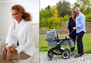 Lejla Abbasová předčasně v 7. měsíci porodila dvojčata