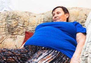 Čeští senioři mají potíže s obezitou (ilustrační foto).