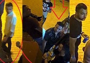»Férovka« před diskotékou v Praze: Čtyři cizinci zkopali ležícího mladíka. Pátrá po nich policie