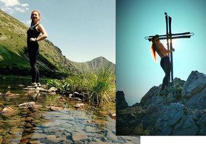 Česká turistka (29) se vyfotila nahá na horách. Slováci v komentářích běsní!