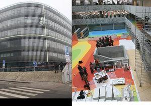 Počmárané ochozy, bláznivá podlaha: Národní technická knihovna pořádá prohlídky pro fanoušky architektury