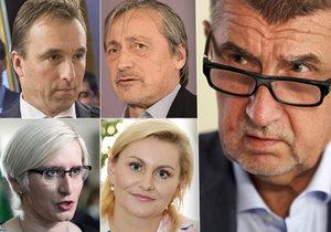 Babišovo hnutí ANO může přijít v Poslanecké sněmovně už brzy o čtyři známé tváře. Skončit by mohli Taťána Malá, Karla Šlechtová, Martin Stropnický i Milan Hnilička. Na řadu by pak přišli náhradníci.