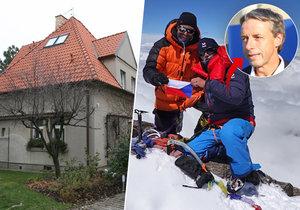 Pavel Bém si plní sny: Vylezl na Nanga Parbat, kupuje vilu ve Vokovicích