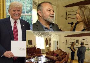 Dokument CBS představil českého velvyslance v USA.