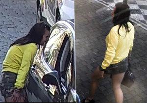 Policie pátrá po dvou podezřelých. Na fotce je hledaná žena.