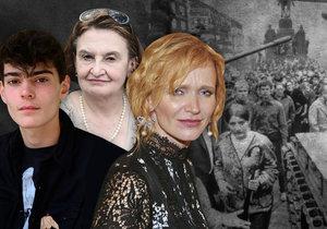 50 let od okupace: Na Holubovou mířili zbraní! Výročí připomínají i další celebrity.