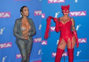 Nejšílenější outfity z cen MTV: Odhalená ňadra a nemožné kostýmy jako z hororu!