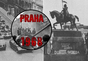 Ve čtvrtek 22. srpna 1968 hrozilo krveprolití na Václavském náměstí, podařilo se mu předejít.