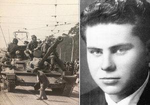 Smutný příběh ze srpna 1968: Viliama Debnára zastřelili před jeho synem