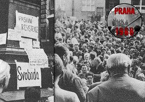 V sobotu 24. srpna 1968 pokračovala sovětská okupace čtvrtým dnem.