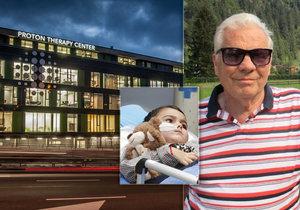 Nigela Bella (74) vyléčili z rakoviny prostaty v pražské protonovém centru.