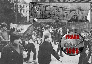Neděle 25. srpna 1968: Bylo krásně, okupanti ale byli stále odhodlaní.