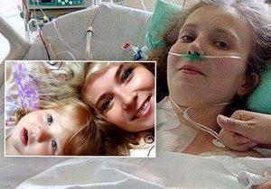"""""""Je to zázrak!"""" Tereza (28) porodila dceru a selhalo jí srdce, zachránila ji transplantace"""