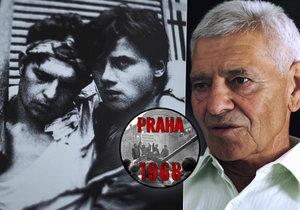 Josefa 21. srpna 1968 postřelili vojáci, když ze země sbíral zakrvácenou českou vlajku: Jako skaut jsem ji tam nemohl nechat, řekl